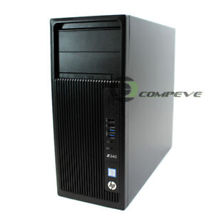 Details about HP Z240 Y1Y63UT#ABA Workstation MT Core i7 6700K 4 GHz 8GB  RAM 1TB HDD