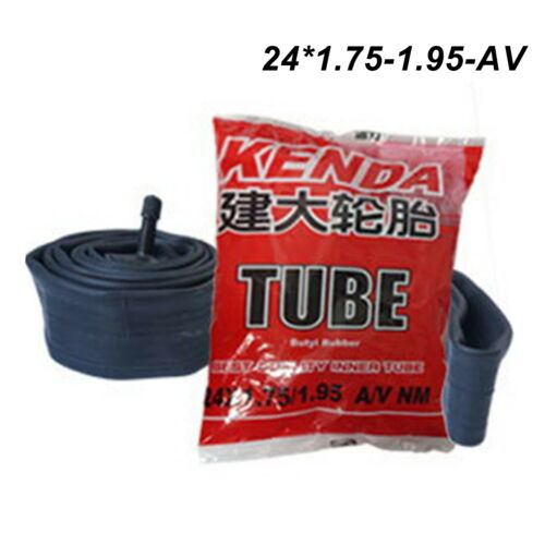 """20/"""" 24/"""" 26/"""" INCH Bicycle Inner Tube with Schrader Valve MTB Mountain Bike Tubes"""