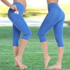 94ac9e5aca2e item 4 Womens Capri 3 4 YOGA Workout Running Gym Sport Pants Leggings  Fitness Trousers -Womens Capri 3 4 YOGA Workout Running Gym Sport Pants  Leggings ...