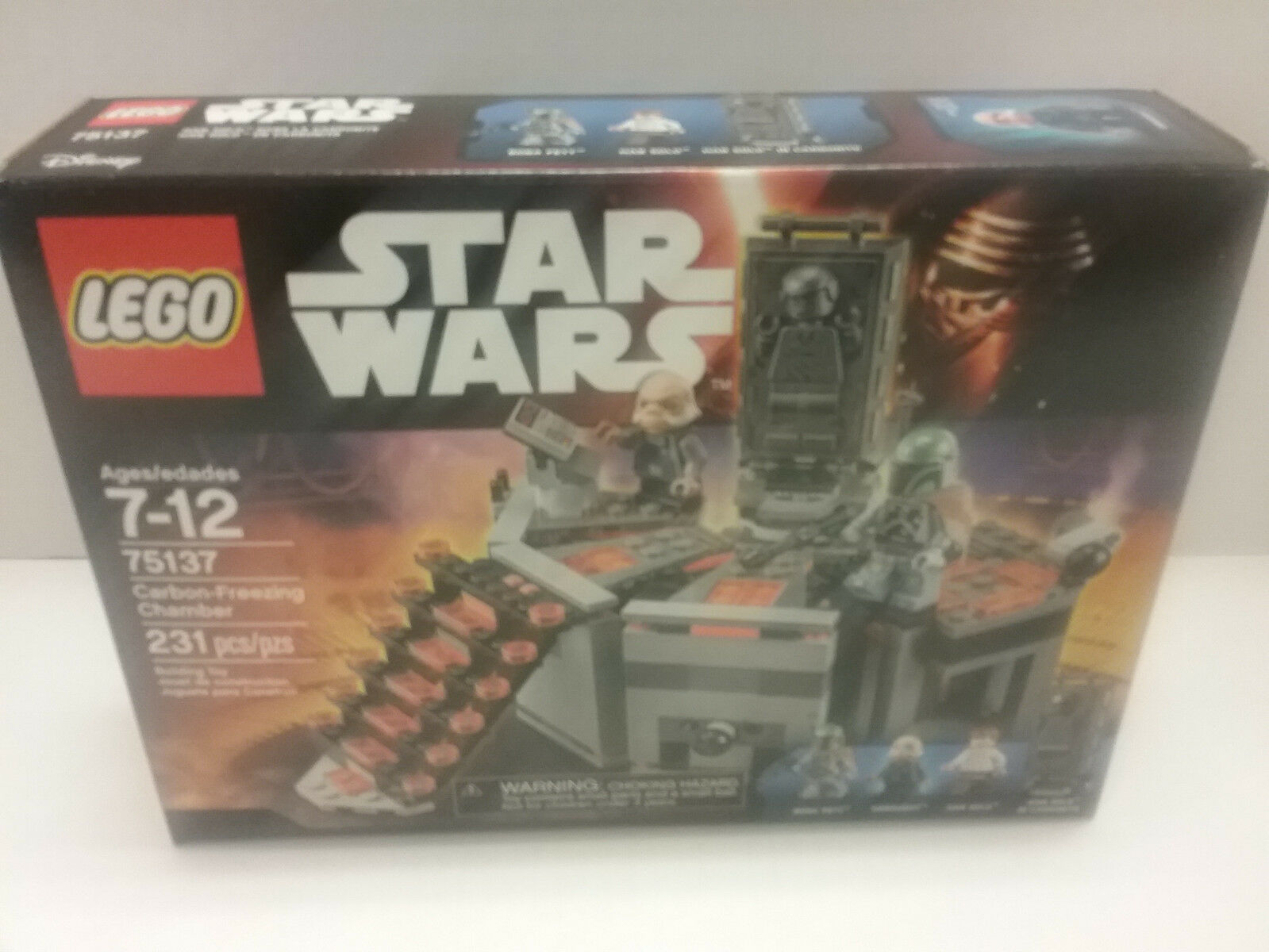Star Wars LEGO 75137 Carbon Freezing Chamber NEW NEW NEW FREE SHIP US c3e919