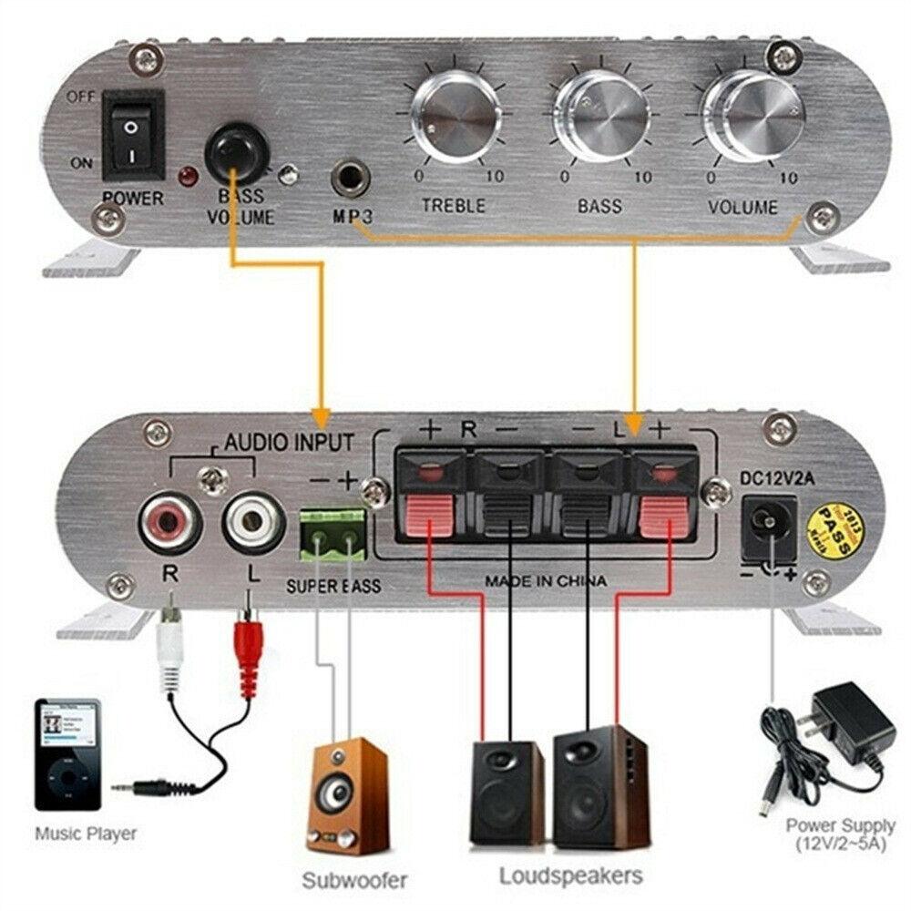 hifi cd mp3 radio car home audio