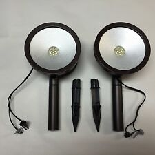 2-Malibu Wall Washer Oil Rubbed Bronze Metal Led Flood  ''Two New Wall Wash''