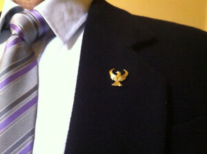 Single-headed-Eagle-Lapel-Pin