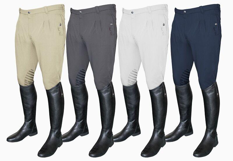 Mark Todd Coolmax para Hombre Pantalones De  Montar silicio agarre Plisado Beige gris Negro Azul Marino blancoo  las mejores marcas venden barato