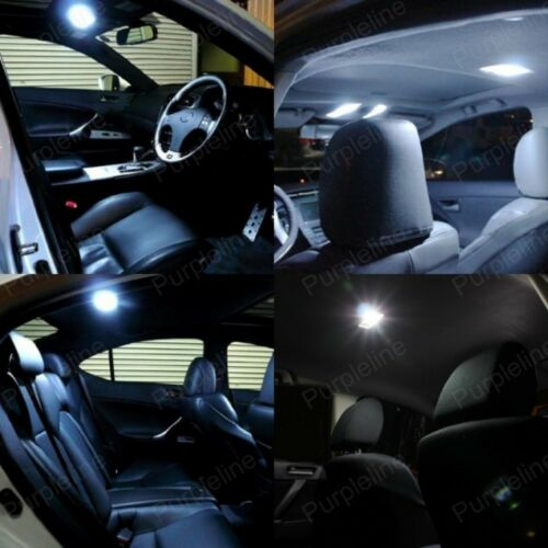 Pry TOOL 8 x White LED Interior Light Package For Dodge Caliber 2007-2012