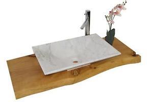 waschbecken aus naturstein granit marmor model havanna guangxi white ebay. Black Bedroom Furniture Sets. Home Design Ideas