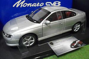 Holden V2 Monaro Cv8 Gris Quick Silver Au 1/18 Autoart 73352 Voiture Miniature