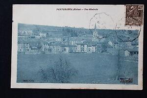 Tarjeta-Postal-Antigua-CPA-Pontcharra-Vista-General