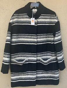 Stripe de manteau Bird Black noix Layer coco Small de Marine Carey XwOHqnEz