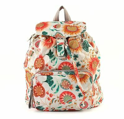 Intelligente Oilily Enjoy Sunflower Backpack Lvf Zaino Borsa Offwhite Bianca Blu Nuovo-mostra Il Titolo Originale