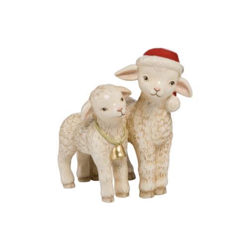 Goebel Schäfchenpaar NEUHEIT 2017 Weihnachten Schaf Schäfchen Figur Neu