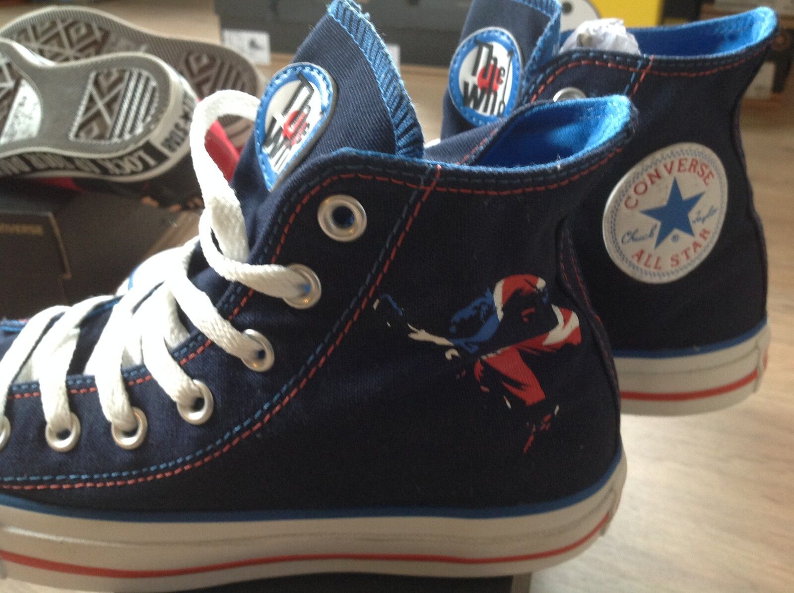 converse ALL STAR - THE WHO - LIMITED EDITION neu grösse 37,5 (UK 5)