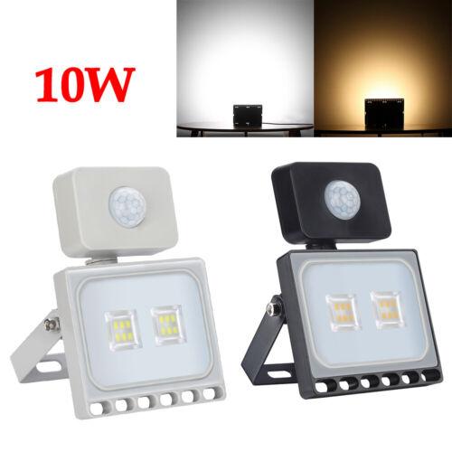 LED Flood Light 100W 50W 30W 20W 10W Outdoor Lamp Spotlight PIR Sensor Motion