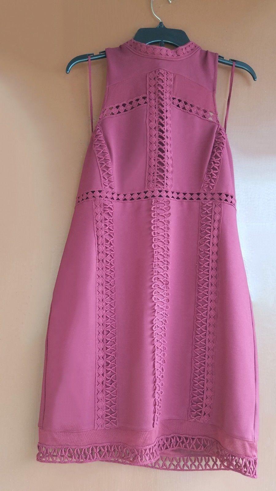 New Free People rot Embroiderot Sky Scraper Sleeveless Large Dress