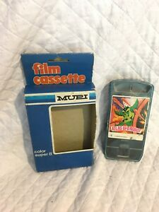 Mupi Film Kassette Super 8 Projektor Grendizer Atlas Ufo Roboter Monster Schrumpffrei Antikspielzeug