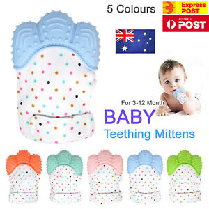 Silicone-Baby-Teether-Teething-Mitten-Mitt-Glove-Safe-BPA-Free-Chew-Dummy-Toy