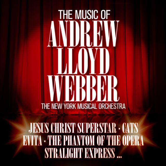 Musical CD Andrew Lloyd Webber The Music Of von The New York Musical Orchestra