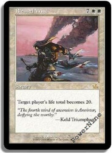 White Prophecy Mtg Magic Rare 4x x4 4 PLAYED Blessed Wind