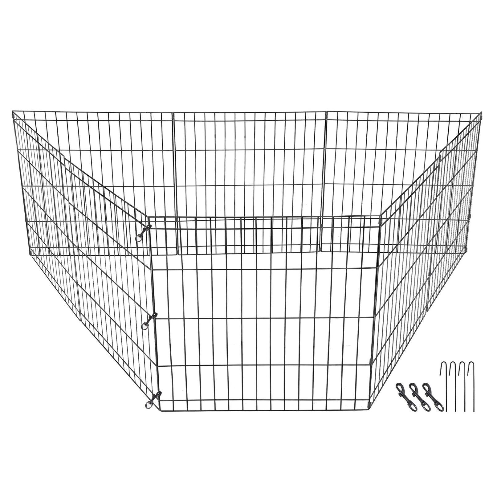 Puppy Pet Playpen Panels Outdoor Protable Fence