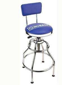 Miraculous Details About Kobalt Adjustable Hydraulic Stool Garage Shop Seat Swivel Adjustable Chair Tools Andrewgaddart Wooden Chair Designs For Living Room Andrewgaddartcom