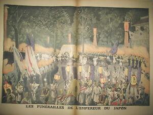 JAPON-FUNERAILLES-EMPEREUR-GRAND-DUC-NICOLAS-DE-RUSSIE-LE-PETIT-JOURNAL-1912
