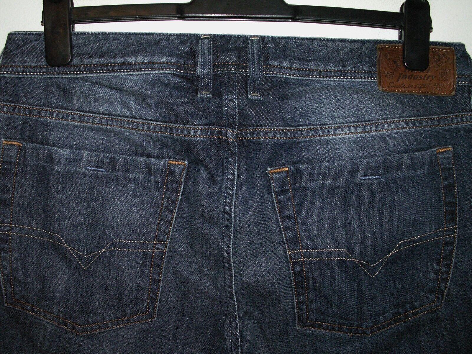Diesel zathan bootcut jeans wash 0801Z W32 L30 (a3521)