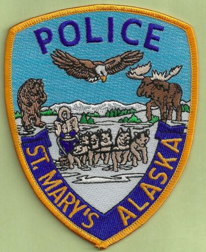 ST MARYS ALASKA POLICE SHOULDER PATCH