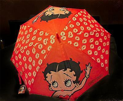 betty boop Umbrella A stunning red Betty boop umbrella with kisses