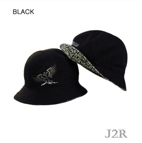 Cotton Unique Embroidery Outdoor Hex Bucket Hats Adjustable Size M//2XL JRBK001