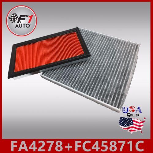 FA4278 FC45871C CARBON PREMIUM ENGINE /& CABIN AIR FILTER for 2007-12 ALTIMA V6