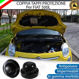 2-TAPPO-COPRIFARO-CUFFIA-IN-GOMMA-FIAT-500L-PER-KIT-A-LED-E-KIT-XENON