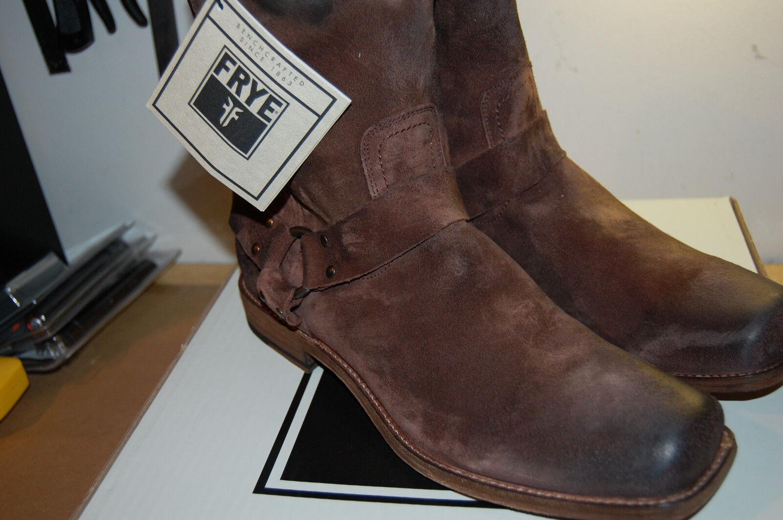 NIB Frye Frye Frye Smith Harness stivali antique leather finish leather lined Dimensione11.5   298 c9a279