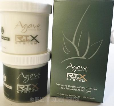 NEW Bio Ionic AGAVE Retex System Hair Straightening Kit Japanese Straightening | eBay