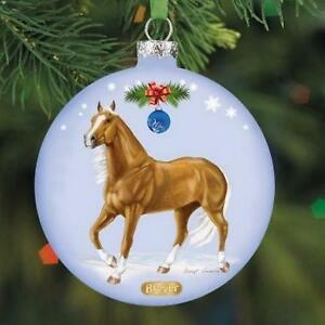 Modellpferd-Breyer-700814-Artist-Signature-Glass-Ornament