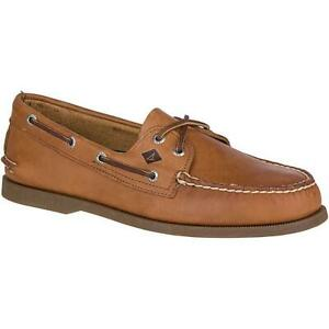 Sperry-Top-Sider-A-O-2-Eye-Men-039-s-Sahara-Boat-Shoe-NWB
