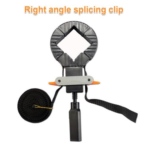 Rapid Coin Pince Bande Sangle Support Angle Droit Fixation à pince pour cadre photo