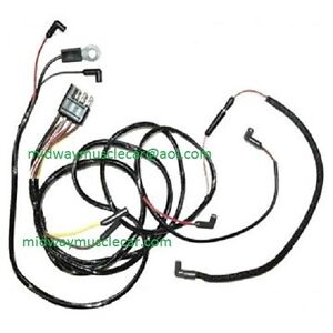 65 ford mustang v8 engine gauge feed wiring harness 1965 260 289 | ebay  ebay