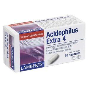 Lamberts-Acidophilus-Extra-4-4-Billion-Live-Bacteria-Food-Supplement-30-Caps