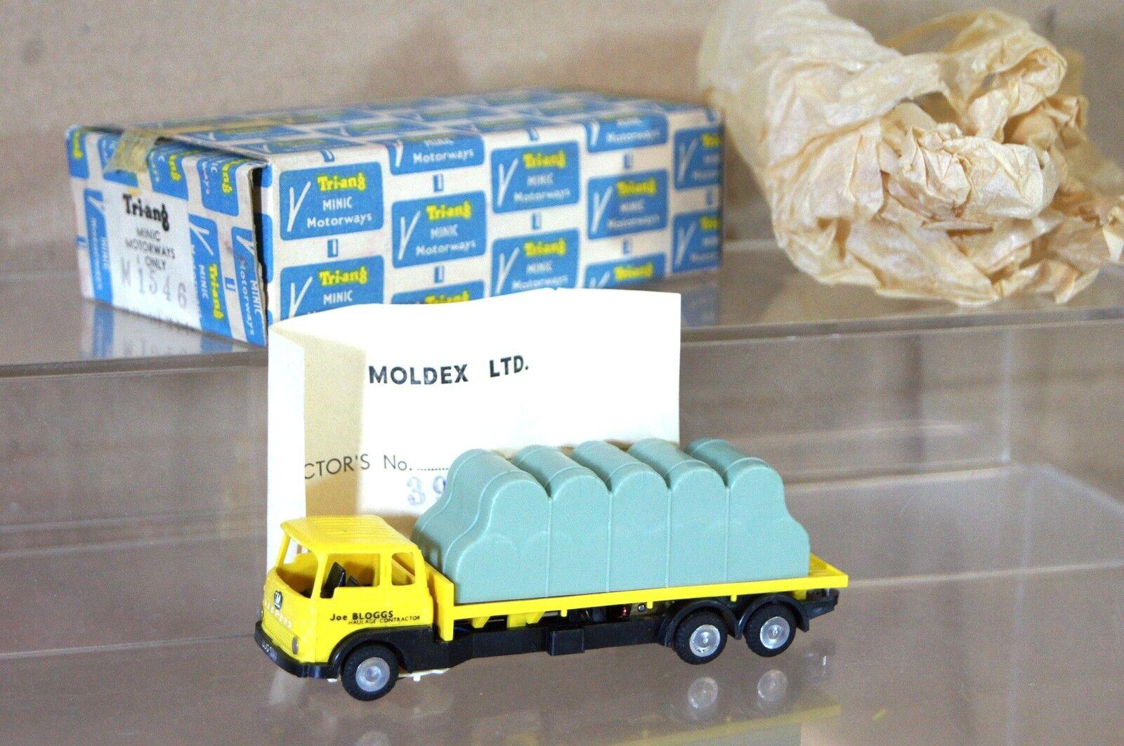 Triang Hornby Minic Autostrade M1546 Australiane Moldex Bedford Balla Camion MIB
