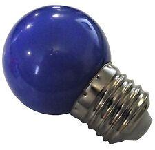 NEW LED 1 BLUE 1 WATT BROODER LIGHT ATTRACTION BULB FOR BABY CHICKS QUAIL DUCK