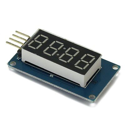 2PCS 4 Bits Digital Tube LED Display Module With Clock Display for Arduino