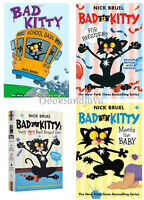 Bad Kitty Meets The Baby,for President & School Daze Box Set With Stickers