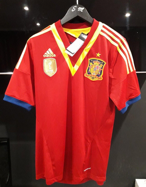 ADIDAS SPAIN FOOTBALL  SHIRT WORLD CUP LOGO  tienda de descuento