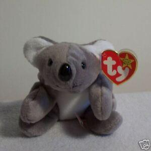 c84c8b68a9c Image is loading TY-Beanie-Baby-MEL-Rare-NWT-RETIRED-koala-
