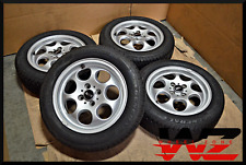 "Set of 02-13 15"" Mini Cooper Silver Wheels w/ General Tires Factory OEM 1512458"