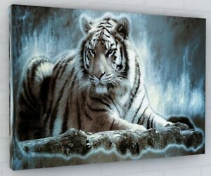 STUNNING LARGE TIGER PRINT PICTURE
