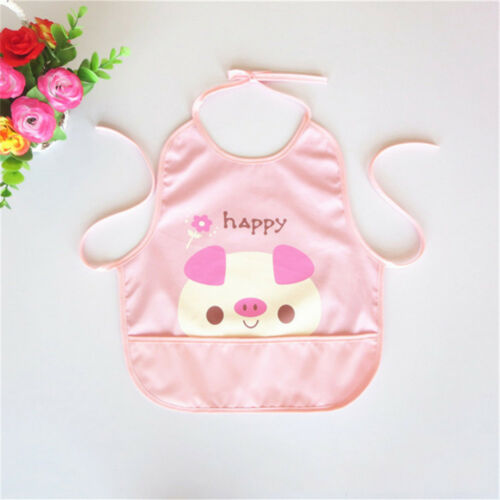 Baby Saliva Towel Waterproof Baby Bibs Burp Cloths Cute Cartoon Design Feeding