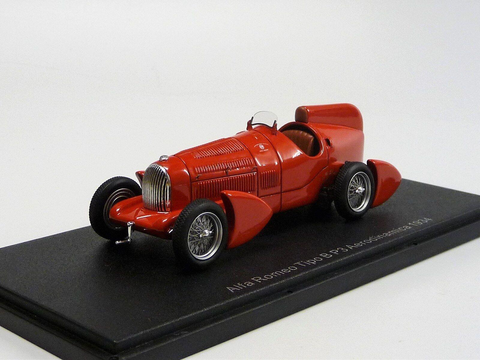 Alfa Romeo Tipo B  P3 Aerodinamica 1934 rot  NEO46295 Neu in OVP 1 43