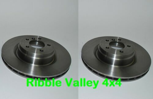 RANGE ROVER VOGUE L322 PAIR OF FRONT BRAKE DISCS 3.6 D AND 4.2 S//C LR031843