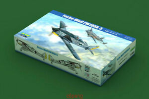 Hobbyboss-1-18-81802-WWII-German-Focke-Wulf-FW190A-5-Hot